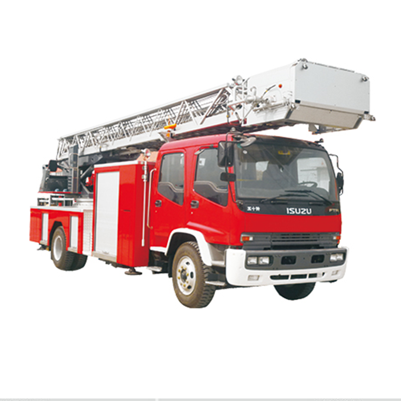 Why do not see aerial ladder fire truck much