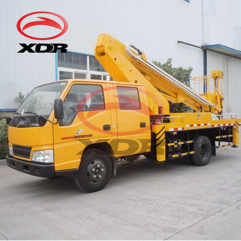 16m Hydraulic Aerial Cage High Up Truck For Sale