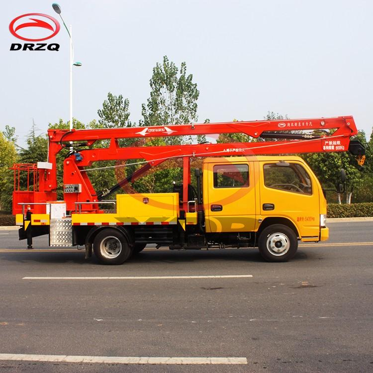 16m Manlift High Working Bucket Truck