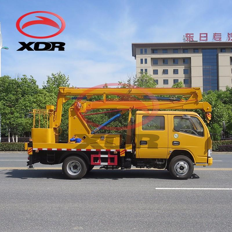 Factory Folding Arm Lifter Boom Truck