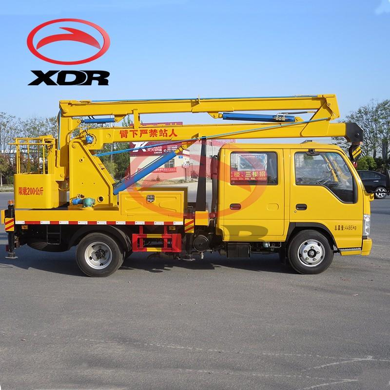 12m Hydraulic Special Aerial Cage Truck