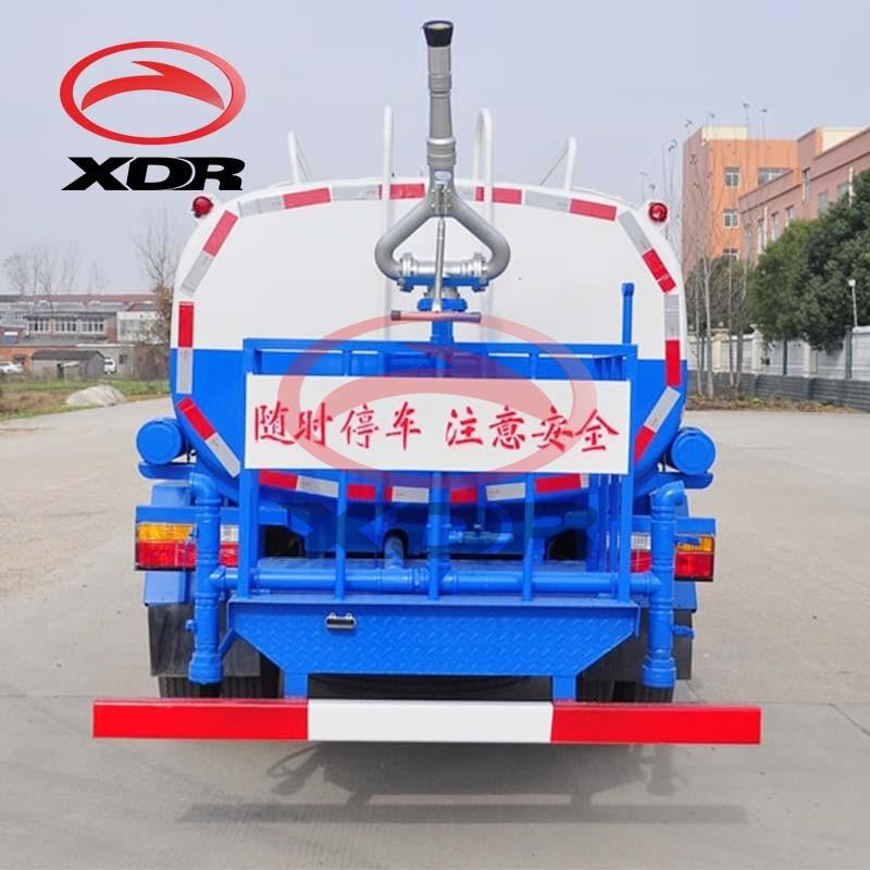 Small 3cbm Sprinkling Water Tanker Truck