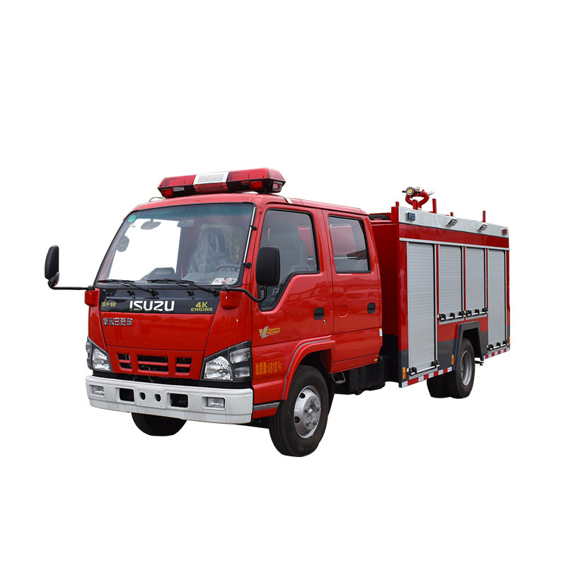 water tank fire fighting truck