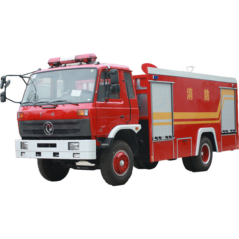 6000liters water tank fire truck
