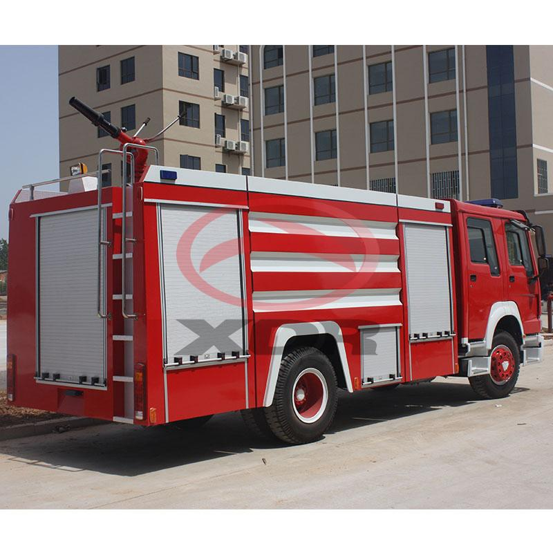 10 tons fire fighting engine